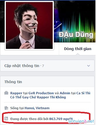 Hướng dẫn tăng sub facebook
